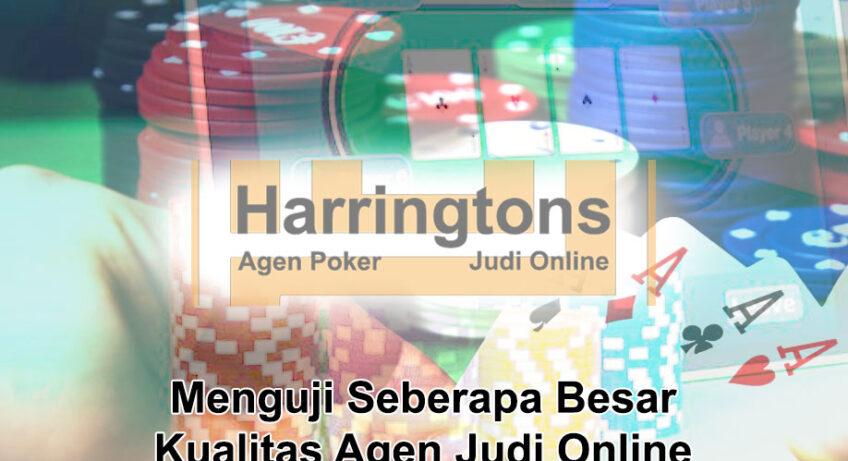 Judi Online Menguji Kualitas Agen - Agen Judi Online Harringtons